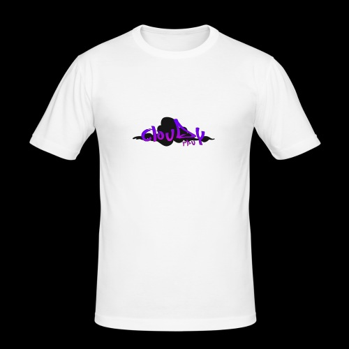 cloudy fpv logo STANDARD - Men's Slim Fit T-Shirt
