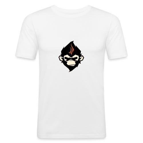 MonkieGames - Mannen slim fit T-shirt