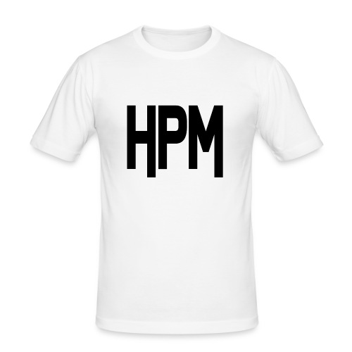 HPM LOGO - Herre Slim Fit T-Shirt