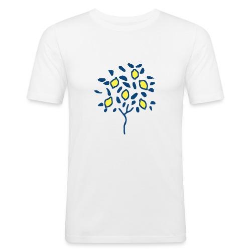 Citron - T-shirt près du corps Homme