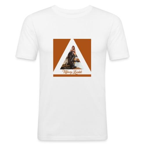 Triangle cuir - T-shirt près du corps Homme