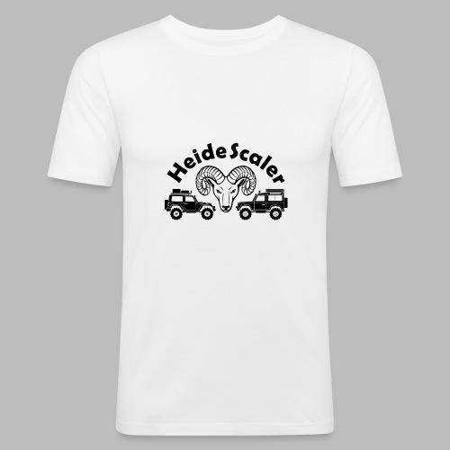 Heide Scaler black HQ - Männer Slim Fit T-Shirt