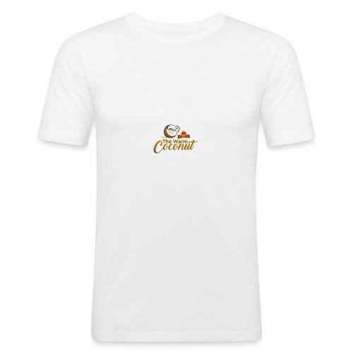 The warm coconut campfire - Men's Slim Fit T-Shirt