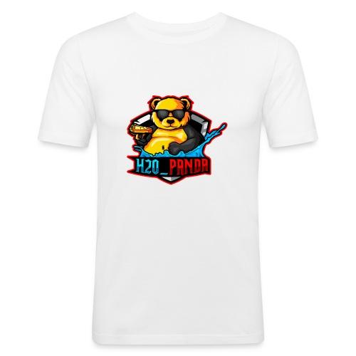 Pandas Loga - Slim Fit T-shirt herr