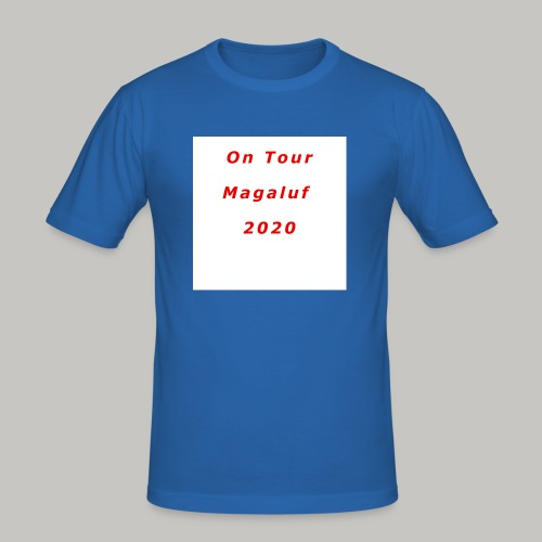 On Tour In Magaluf, 2020 - Printed T Shirt - Men's Slim Fit T-Shirt