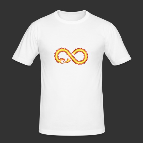 Infinity Snake - T-shirt près du corps Homme