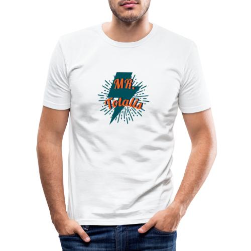 Esempio Logo o Stampa! - Maglietta aderente da uomo