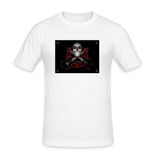 Guitarra Rockera - Camiseta ajustada hombre