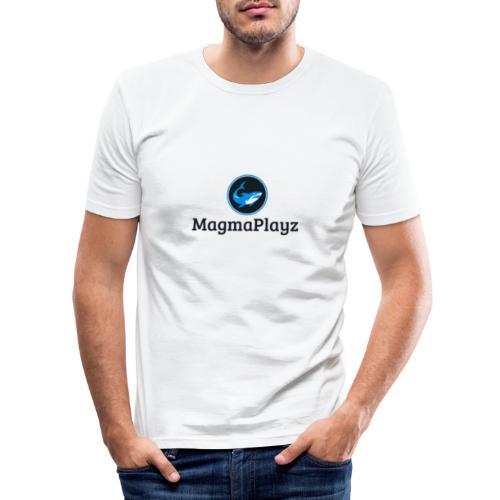 MagmaPlayz shark - Herre Slim Fit T-Shirt