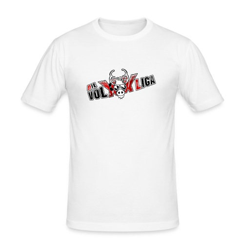 volxxlogos - Männer Slim Fit T-Shirt