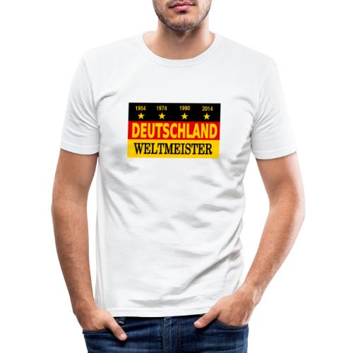 Flag of Deutschland - slim fit T-shirt