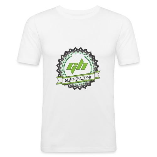 GlitchsHacksFR HD - T-shirt près du corps Homme
