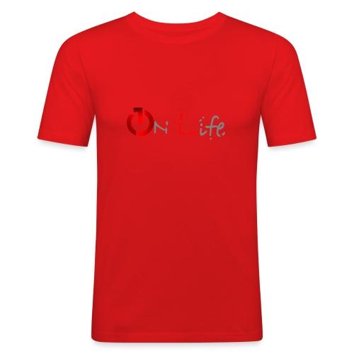 OnLife Logo - T-shirt près du corps Homme