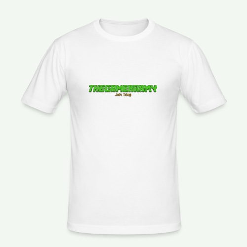TheGamerArmy Join Idag - Herre Slim Fit T-Shirt