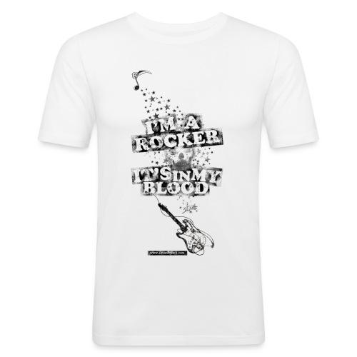 hyperblood png - Camiseta ajustada hombre