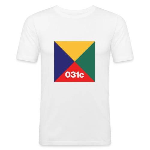 multicolor - T-shirt près du corps Homme