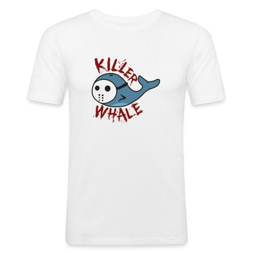 Killer Whale - Männer Slim Fit T-Shirt