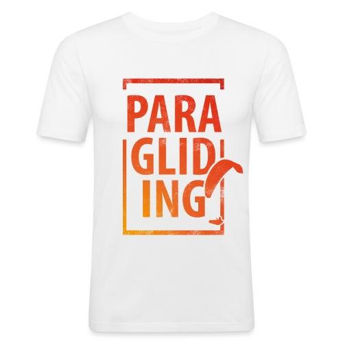 Paragliding Gleitschirmfliegen Paragleiten - Männer Slim Fit T-Shirt