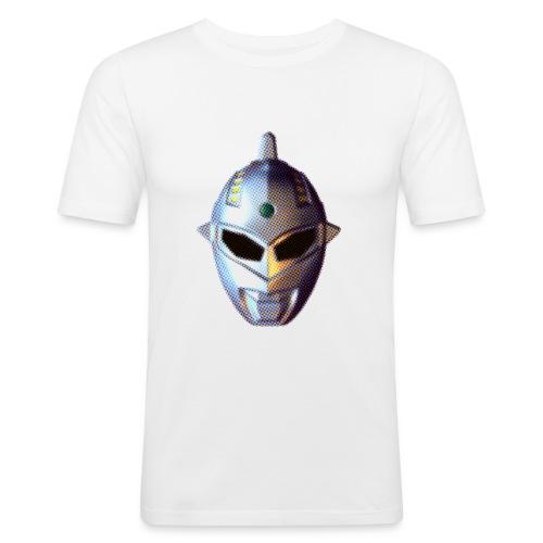 Tokusatsu quadri - Men's Slim Fit T-Shirt