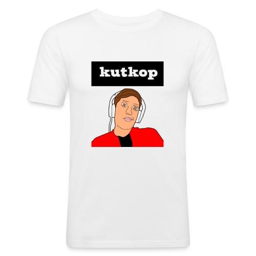 cartoon shirt/KutKopYT - Mannen slim fit T-shirt