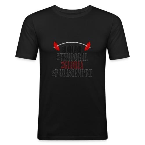 GYM - DOLOR TEMPORAL - Camiseta ajustada hombre