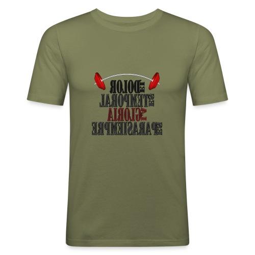 Para el Espejo: GYM - DOLOR TEMPORAL - Camiseta ajustada hombre
