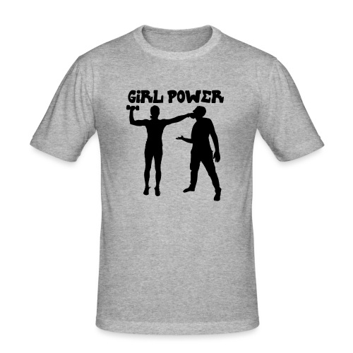 GIRL POWER hits - Camiseta ajustada hombre