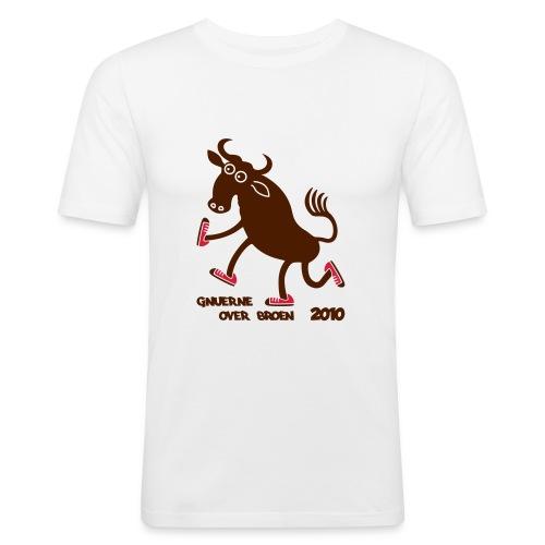 Gnuerne over broen - Men's Slim Fit T-Shirt