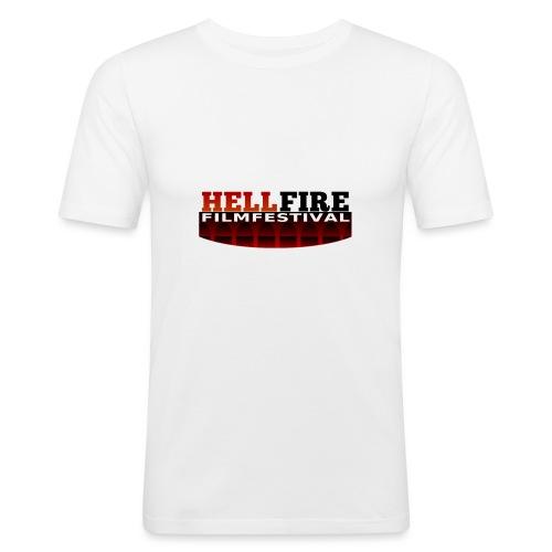 Hellfire Film Festival logo - Men's Slim Fit T-Shirt
