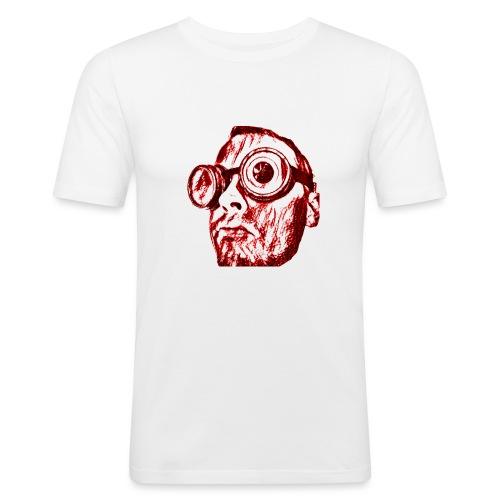 Face Tegner Red Grande - Herre Slim Fit T-Shirt