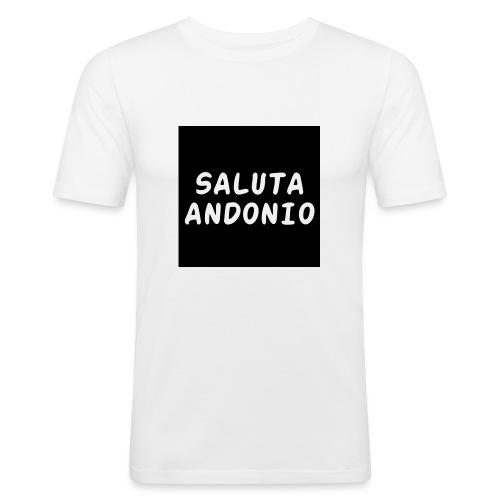 SALUTA ANDONIO - Maglietta aderente da uomo