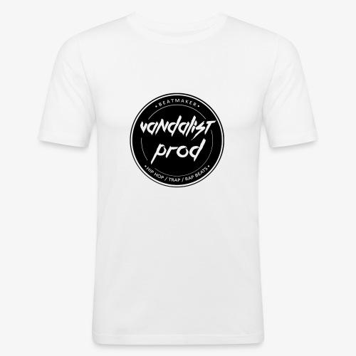 Logo Vandalist Prod - T-shirt près du corps Homme