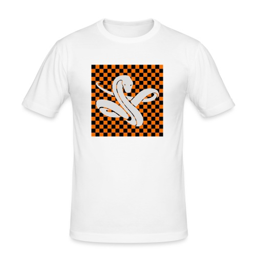 Wavy snake - Mannen slim fit T-shirt