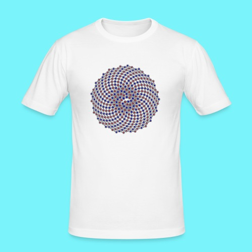 Fibonacci network one - Men's Slim Fit T-Shirt