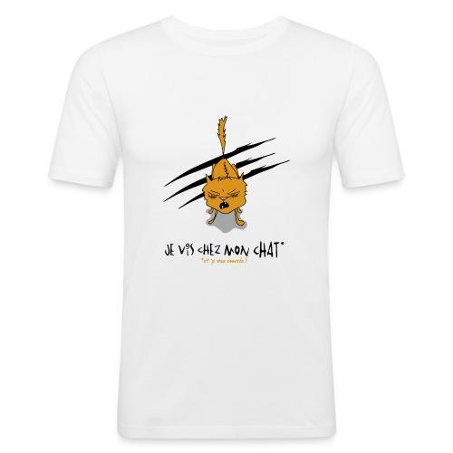 je vis pixels - T-shirt près du corps Homme