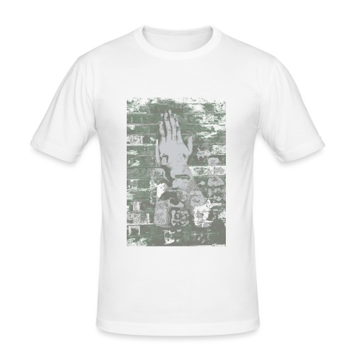 Street Prayer Fade - Men's Slim Fit T-Shirt