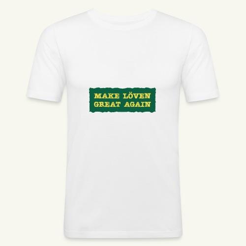 Make Löven great again - Slim Fit T-shirt herr