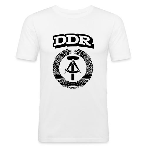DDR T-paita - Miesten tyköistuva t-paita