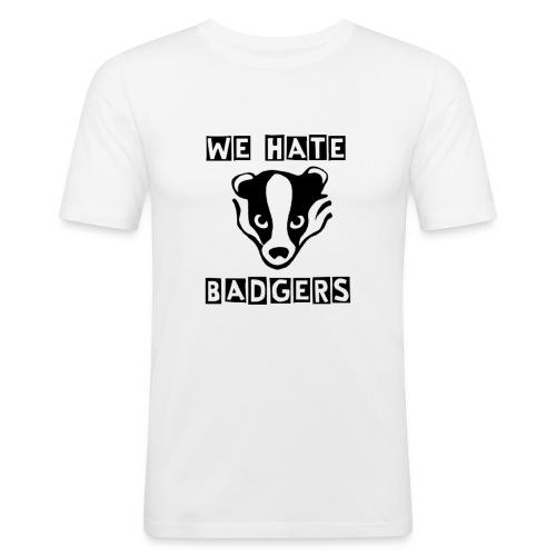 hate2 png - Men's Slim Fit T-Shirt