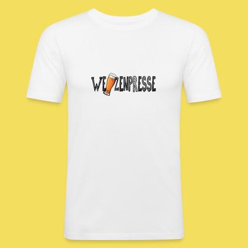Weizenpresse - Männer Slim Fit T-Shirt