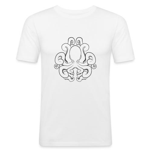 Black Octopus - T-shirt près du corps Homme