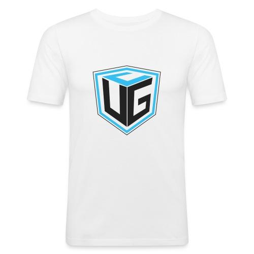 Ultimate Gaming Community Cube - Männer Slim Fit T-Shirt