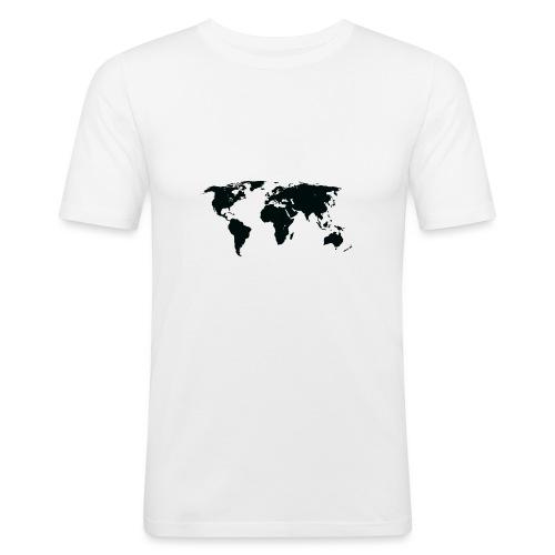 World - Herre Slim Fit T-Shirt