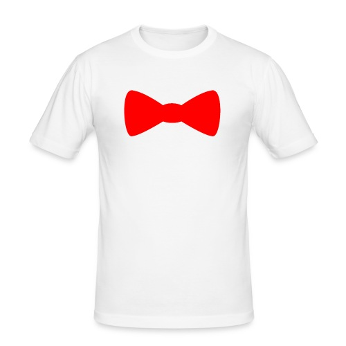 Red Bowtie - Men's Slim Fit T-Shirt