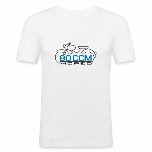 Moped sparrow 80 cc emblem - Men's Slim Fit T-Shirt
