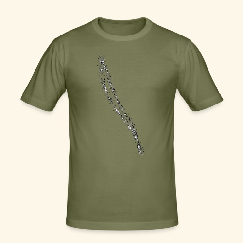 Muster_18 - Männer Slim Fit T-Shirt