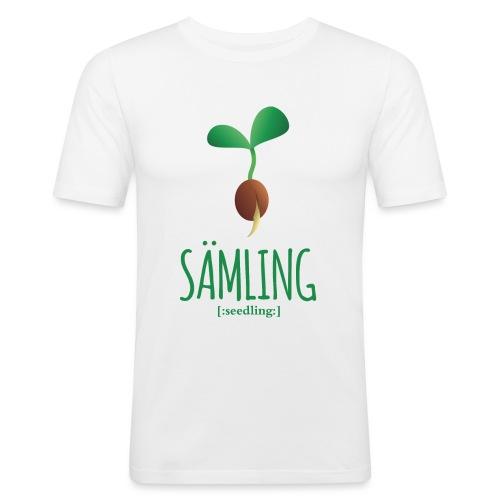 Sämling - Männer Slim Fit T-Shirt