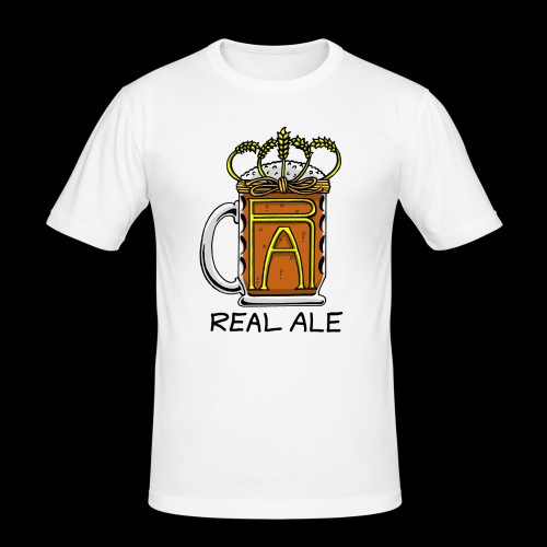 Real Ale - Men's Slim Fit T-Shirt