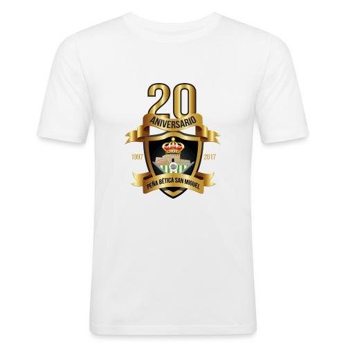 Camiseta Escudo 20 Aniversario - Camiseta ajustada hombre