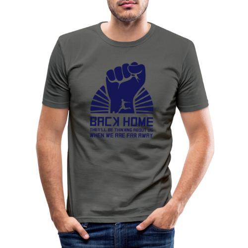 Back Home - Men's Slim Fit T-Shirt